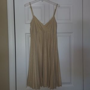 Gold MaxandCleo sundress